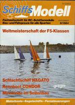 Schiffsmodell 9/84 d  abl