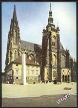 AK Prag St. Veit-Kathedrale    w47