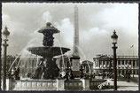 AK Paris, Place de la Concorde Fontaines et l´Obelisque  40/46