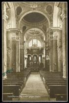 AK Füssen, Stadt Pfarrkirche innen gegen Osten    63/48