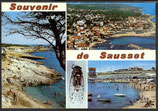 AK Souvenir de Sausset, Mehrbildkarte    48n