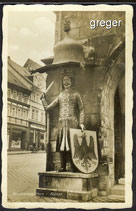 AK  Nordhausen im Harz, Roland-Denkmal    21g