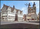 AK  Lutherstadt Wittenberg, Markt mit Rathaus und Stadtkirche   33/29