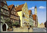 AK Rothenburg ob der Tauber, Herrngasse   34/45