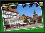 AK Grüße aus Osterode Kornmarkt mit Marktkirche    41/11