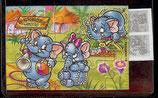 Ü-Ei Puzzle Nr.4  Funny Fanten oben rechts  -  3x