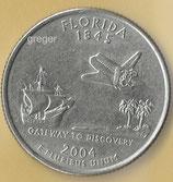 QUARTER DOLLAR - Florida von 2004   - 1x