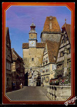 AK Rothenburg ob der Tauber, Röderbogen mit Markusturm   68/33