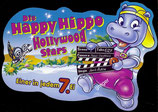 1x Ü-Ei Palettenanhänger 1997 Die Happy Hippo Hollywood Stars    Nr.6
