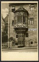 AK Nürnberg,Erker am Seebalder Pfarrhof    15f