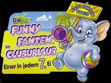 1x Ü-Ei Palettenanhänger 1995 Die Fanny Fanten im Cluburlaub    Nr.1