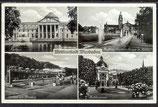 AK Deutsches Reich 1935 Wiesbaden-Mehrbildkarte 8/12