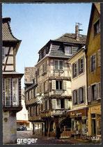 AK Colmar, La Rue des Senuriere    63-o