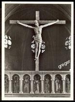 Gelnhausen, Marienkirche, Das Kreuz auf dem Lettner  74/13