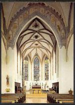 AK Liebfrauenmünster Donauwörth, Blick in den Chor   16/32
