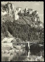 AK Burg Werenwag im oberen Donautal    73/14