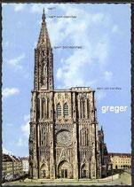 AK Strasbourg, La Cathé drale    77m