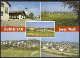 AK Ruderting, Bayer. Wald Mehrbild   41/23