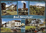 AK Bad Neustadt, Saale, Mehrbildkarte    71p