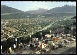 AK Innsbruck. Hungerburg, Terasse mit Stadtansicht    61/1