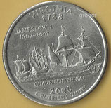 QUARTER DOLLAR Virginia von 2000    - 3x