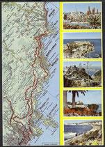 AK Les Trois Corniches de Nice a Menton    t 2