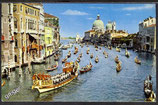 AK Venezia Regatta auf dem Canal Grande    y35