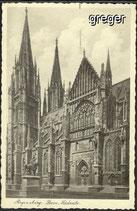 AK Deutsches Reich Regensburg, Dom Südseite    9i