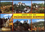 AK Grüsse aus der Fränkischen  Schweiz, Mehrbildkarte   21/13