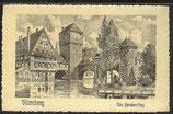 AK Deutsches Reich 1923 Nürnberg – Um Henkersteg 6/30