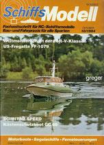 Schiffsmodell 10/84 d  abl
