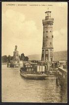 AK Deutsches Reich Lindau i Bodensee – Leuchtturm   4/47