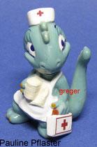 Die Dapsy Dinos von 1995  - Pauline Pflaster  - mit BPZ   -  2x
