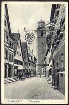 AK Deutsches Reich Dinkelsbühl Turmgasse   12/25