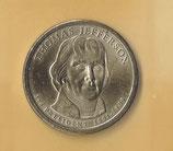 1 $ Präsidenten von 2007 P - Thomas Jefferson  - 2x