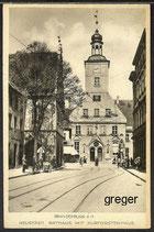 AK Brandenburg, Neustadt, Rathaus mit Kurfürstenhaus   85j