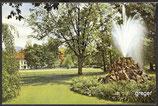AK Baden-Baden, Springbrunnen i.d. Lichtentaler Allee    34p