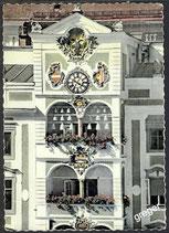 AK Gmünden am Traunsee, Rathaus-Glockenspiel      52/3