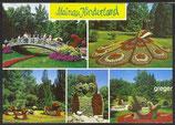 AK Insel Mainau, Blumentiere im Kinderland    63p
