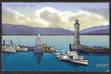 AK  Der Lindauer Hafen   39d