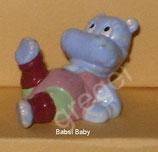 Happy Hippos im Fitness Fieber  von 1990  - Babsi Baby   - ohne BPZ  - 2x