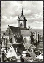 AK Colmar, Vue sur la Cathédrale    67-o