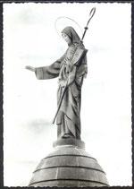 AK  Mont Sainte-Odile, Statue de Sainte Odile bénissant l'Alsace   34/37