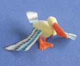 Bunte Vogelwelt mit Papierflügel von 1999/2000 - Pelikan  - 1x