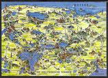 AK Landkarte Die Holsteinische Schweiz    q14