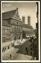 AK  Deutsches Reich München, Neuhäuserstraße u. Hofkirche    91g