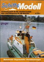 Schiffsmodell 6/87 b  abl