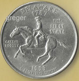 QUARTER DOLLAR Delaware von 1999  -  1x