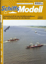 Schiffsmodell 2/01 a Mit großformatiger Plantafel zum Nachbau der Fähre Stolpmünde