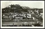 AK  Salzburg vom Kapuzinerberg aus    73g